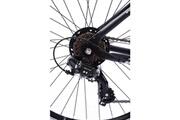 Icaverne Vtt vélo vtt enfant 26 pouce cadre en aluminium couleur noir