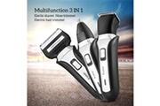 Generic Couteau à barbe électrique à trois lames rechargeable rasoir trois en un bt492