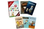 Promobo Jeu de 7 familles cartes familles en délires jeux de société