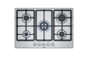 Bosch Table de cuisson gaz 75cm 5 feux inox - bosch - pgq7b5b90