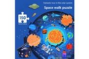 AUCUNE Puzzle du système solaire pour enfants apprenez le système solaire avec un puzzle en forme de planète