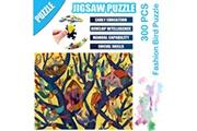 AUCUNE Science cartoon fashion bird puzzle 300 pièces éducatif puzzle game toys multicolore