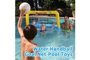 AUCUNE Flottant piscine eau but de handball net-piscine jouets pour l'été natation jeu de sports nautiques jaune