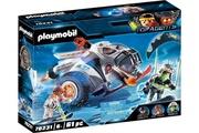 PLAYMOBIL Playmobil top agent spy teamsnowmobile (70231)