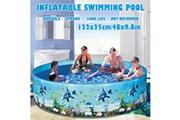AUCUNE Piscine pour enfants de 48 pouces pour piscine pliante pour les enfants de la famille
