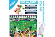 AUCUNE Science cartoon football match puzzle 300 pièces éducatif puzzle game toys multicolore