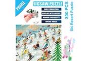 AUCUNE Science cartoon ski resort puzzle 300 pièces éducatif puzzle game toys multicolore