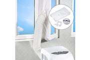 AUCUNE Le joint de fenêtre pour les climatiseurs mobiles et le sécheur d'air d'échappement s'adapte à tout type de climatisation blanc