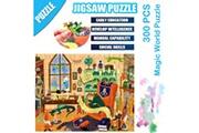 AUCUNE Science cartoon magic world puzzle 300 pièces éducatif puzzle game toys multicolore