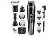 Kemei Kemei 11 en 1 tondeuse à cheveux multifonction tondeuse électrique rasoir tondeuse à barbe hommes rasage machine coupe tondeuse de nez