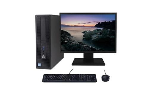 Hp Pc hp prodesk 600 g2 sff i5-6400 3.30ghz 4go/320go wifi w10