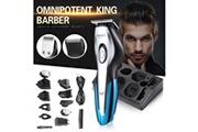 Generic Tondeuses à cheveux électriques imperméables multifonctionnelles rechargeables pour hommes bt041