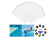 Generic 5 pcs piscine poisson réservoir chaussettes filet maille puisard blanc aquarium outil de nettoyage bt608