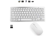 Ovegna Ovegna k14 : clavier compact et portable sans fil (qwerty) avec souris pour windows, mac et android