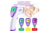 Generic Thermomètre frontal numérique infrarouge sans contact numérique pour bébé, adulte, enfant pealer