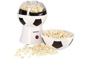 Celexon Machine à popcorn cinepop sp10-20x20x29cm - blanc/design football - sans huile/faible en graisse - popcorn-maker