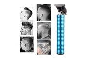 Ckeyin Mini tondeuse à cheveux électrique bruit faible rasoir à cheveux pour usage de voyage pour enfants et adultes(bleu)
