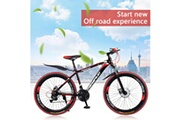 Generic Outroad mountain bike alliage d'aluminium 26 pouces 21 vitesses étudiant adulte vélo tom30
