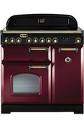 Falcon CLASSIC DELUXE 90cm INDUCTION ROUGE AIRELLE/LAITON - CDL90EICY/B-EU