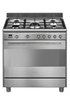 Smeg ESTHETIQUE CLASSICA 90cm MIXTE INOX - SCB91MFX9 photo 1