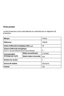 Proline CNE8X