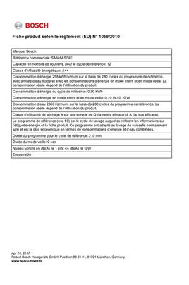 Bosch SMI46AS04E INOX