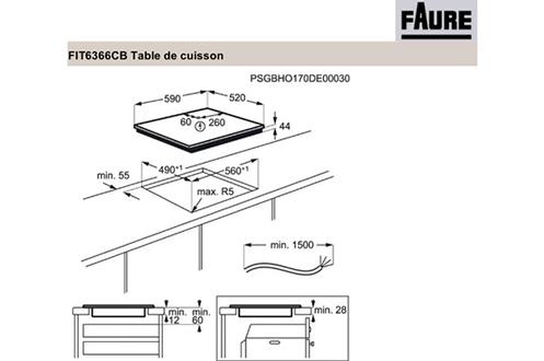 Faure FIT6366CB