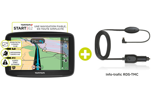 Tomtom START 62 EU 48 TMC