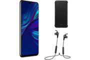 Huawei BUNDLE P Smart 2019 Black + AM61 + Flip cover