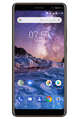 Smartphone Nokia 7 PLUS BLACK