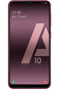 Samsung Galaxy A10 32Go rouge
