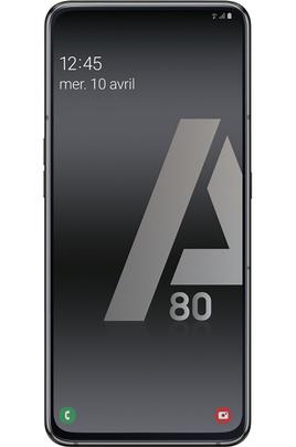 Smartphone Samsung Galaxy A80 noir 128Go