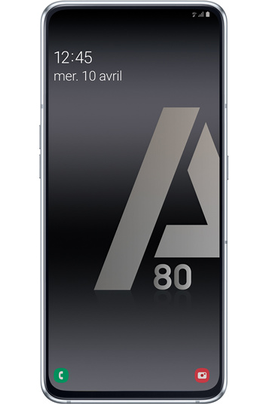 Smartphone Samsung Galaxy A80 Silver 128Go