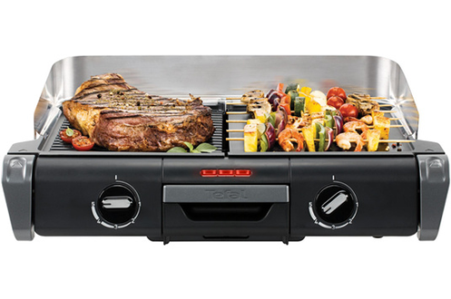 Tefal TG80414 Family Flavor Grill 2 en 1 Table