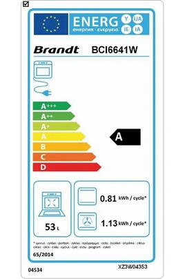 Brandt BCI6641W