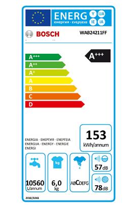 Bosch WAB24211FF