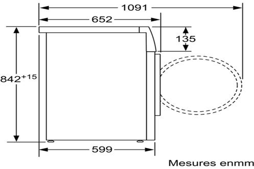 Bosch WTW87499FF