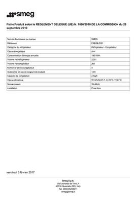 Smeg FAB28LCG1