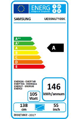 Samsung UE55NU7105 4K UHD