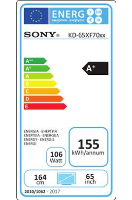 Sony KD65XF7096 4K UHD