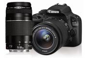 Canon EOS 100D + EF-S 18-55 III + EF 75-300mm III