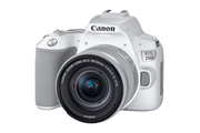 Canon EOS 250D blanc + objectif EF-S 18-55 mm f/4-5.6 IS STM