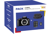 Canon PACK EOS 800D + 18-135 IS STM + FOURRE-TOUT + SD 16Go