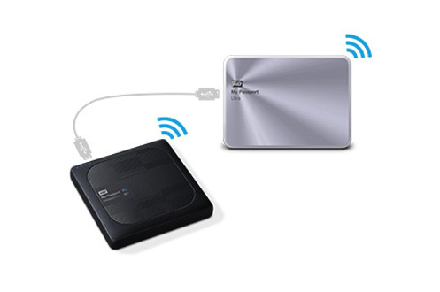 Wd MY PASSPORT WIRELESS PRO 2To