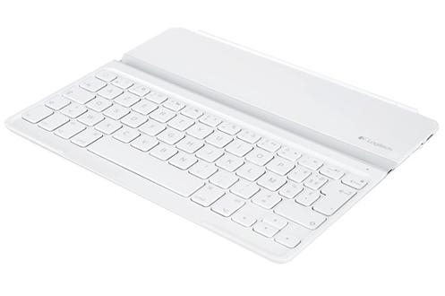 Logitech Ultrathin Keyboard Cover iPad Blanc