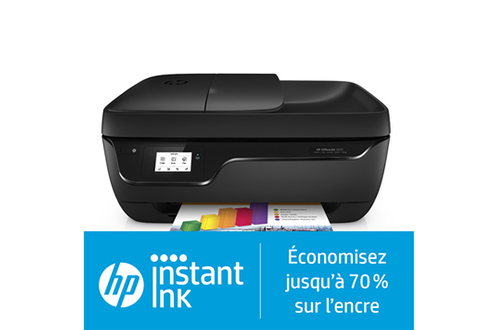 Hp OFFICEJET 3833 éligible HP instant ink
