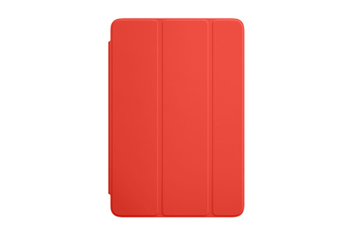 Housse et étui pour tablette Apple Smart Cover orange pour iPad mini 4