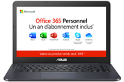Asus E402YA-FA031TS + 1 AN D'OFFICE 365 PERSONNEL INCLUS