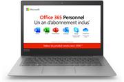 Lenovo Ideapad S130-14IGM + 1 an d'Office 365 Personnel inclus