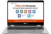Asus TP401MA-BZ031TS + 1 an d'Office 365 Personnel inclus